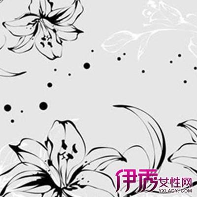 【图】精美的黑白手绘壁画 完美创造出独特艺术