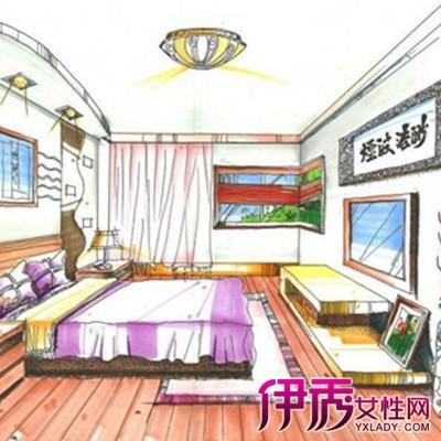 【图】室内卧室手绘效果图 手绘马克笔作怎样上色?