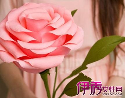 手工纸花制作方法大全:有一朵花