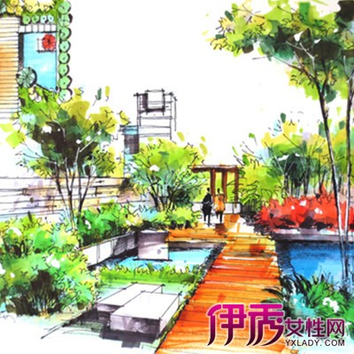 【图】欣赏简单手绘景观图片 几个手绘技巧方法推荐