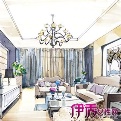 【图】欣赏客厅手绘效果图图片 为你介绍手绘的几个艺术价值