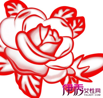 【玫瑰花剪纸图片】【图】独特又美丽的玫瑰花剪纸
