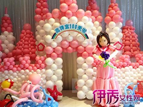 【图】生日气球造型图片欣赏 怎么用气球布置生日