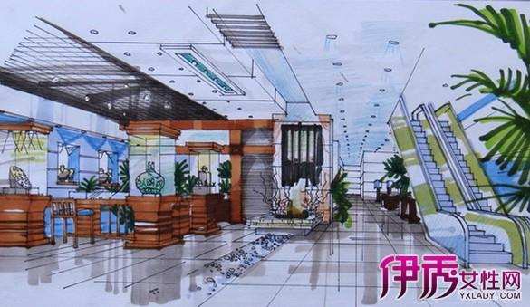 【展厅手绘】【图】展厅手绘图片
