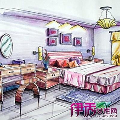 【图】卧室手绘效果图大全 卧室的分类以及风格设计