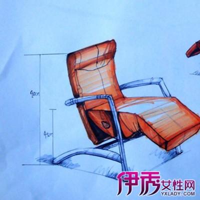 【图】欣赏椅子设计手绘图片 几个技巧教你如何快速完成一个作品