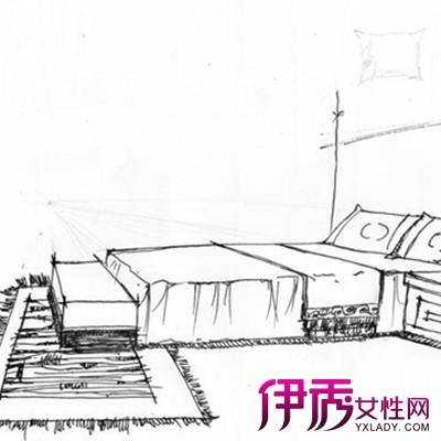 【图】展示室内手绘单体效果图 给图片上色的几个技巧推荐