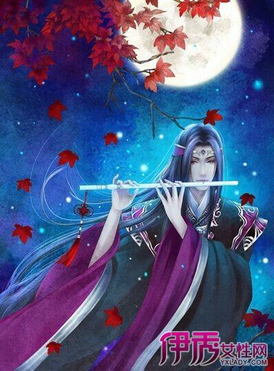 【手绘古风妖孽美女】【图】彩色手绘古风妖孽美女图片