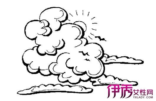 【图】手绘云朵图片展示