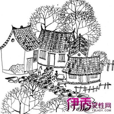 【圖】欣賞黑白插畫手繪圖片