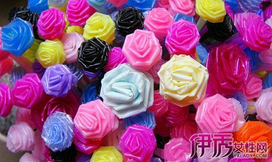 【图】分享吸管玫瑰花的折法图解
