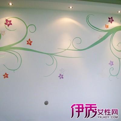 【简单线条的手绘墙画】【图】欣赏简单线条的手绘墙