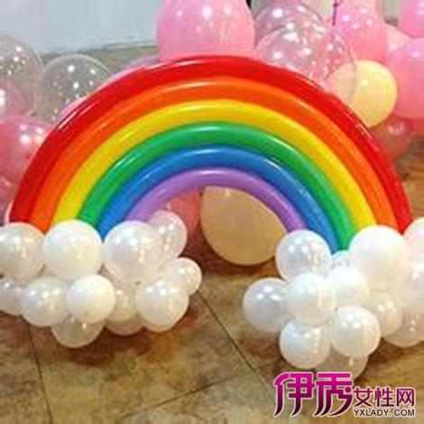 长条气球扎法图解分享展示图片