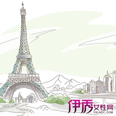 【埃菲尔铁塔手绘】【图】埃菲尔铁塔手绘展示图