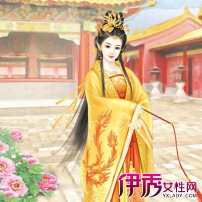 【手绘古风宫廷美女】【图】欣赏手绘古风宫廷美女