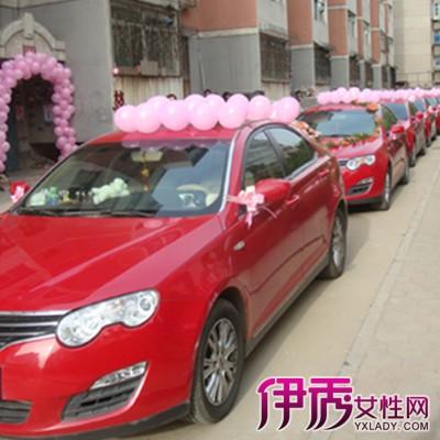 气球婚车装饰图片欣赏 教你几招装饰的方法