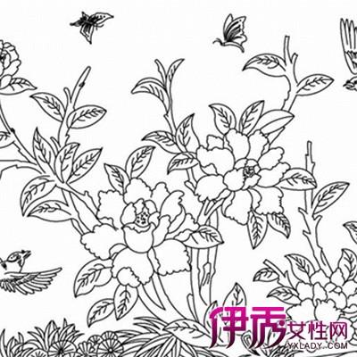 蝴蝶和花的铅笔画图片展示 铅笔画的艺术形式介绍