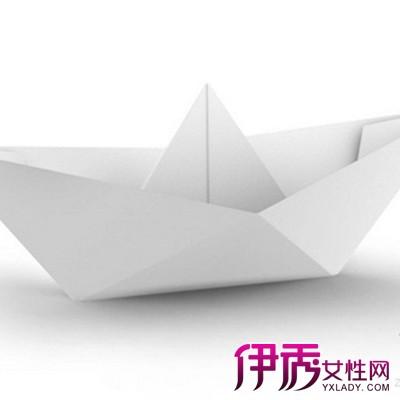 幼儿园大班创意手工制作 折纸船