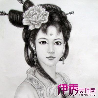 【图】展示铅笔画古装美女的图片 盘点铅笔画的基础