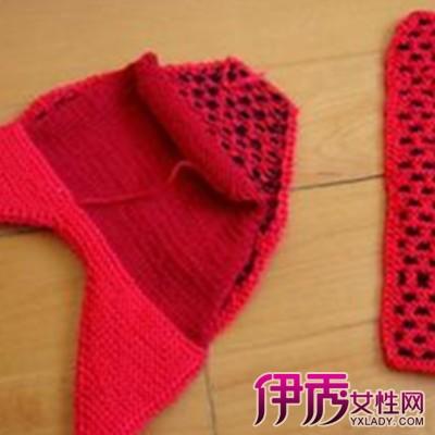 棒针毛线拖鞋的织法图解 教你轻松织拖鞋