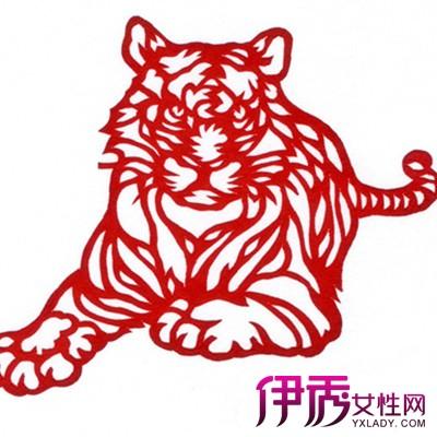 欣赏老虎剪纸图片 了解剪纸的分类和方法技巧
