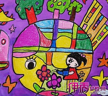 【图】美好家园的绘画作品欣赏图片