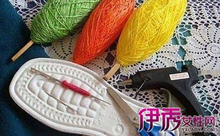 【图】编织鞋子的最简单花样图