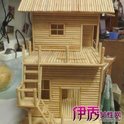 筷子做别墅的步骤图 4种方法轻松做出小别墅