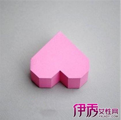 【图】分享心形盒子的折法图解