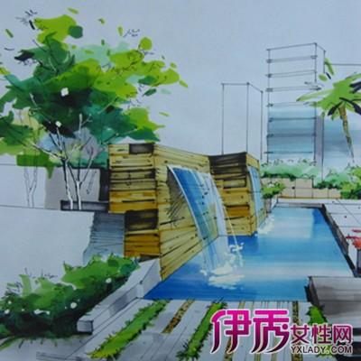 【图】欣赏公园景观手绘平面图 了解手绘设计创意的意义