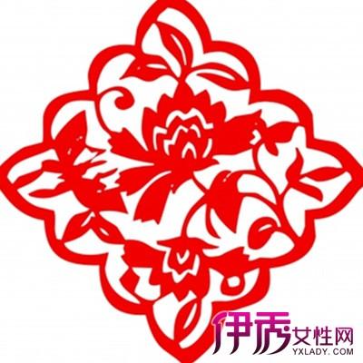 """【图】展示花朵剪纸图案大全 教你如何折""""五折花团"""""""