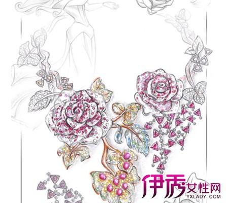 (珠宝手绘图1) 珠宝首饰设计手绘模板为什么那么贵答:因为很薄,精准