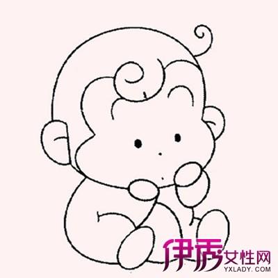 【猴子 简笔画】【图】猴子简笔画图片展示