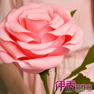 【手工玫瑰花制作图解】【图】手工玫瑰花制作图解