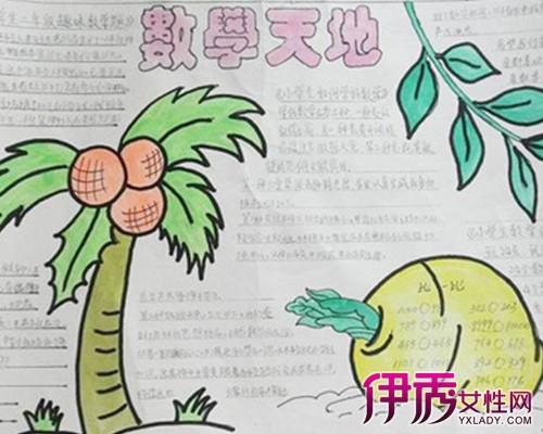 数学手抄报简单又漂亮_数学手 抄报三年级