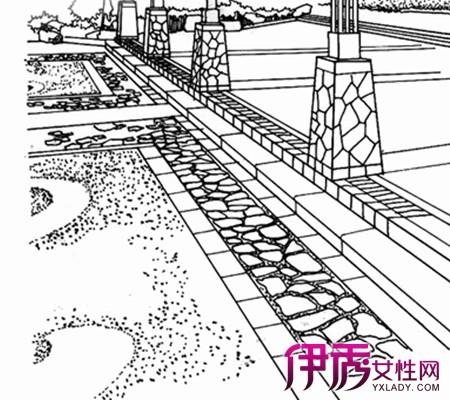 【图】地面铺装手绘图片欣赏 介绍其艺术价值