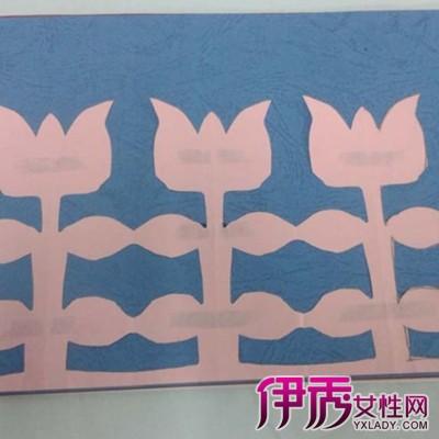 【图】简单剪花边纸图解图片赏析 分享简单窗花剪纸教程步骤图解