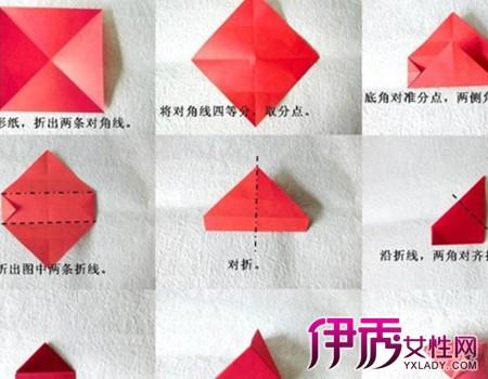 礼物盒子的折法图解赏析 分享两种精美的盒子折纸