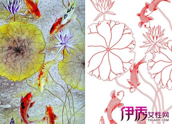 【图】鱼戏荷叶间简笔画图片大全 探索创造形象美的奥秘