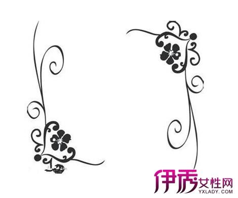 【图】欣赏手绘花边边框作品 三招教你掌握创意手绘技巧