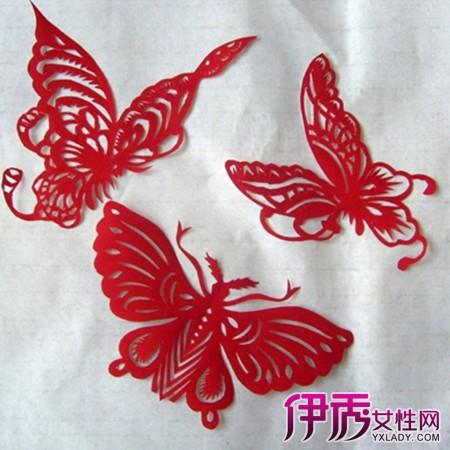 飞蝴蝶剪纸图案画法大全 三步教会你如何剪纸