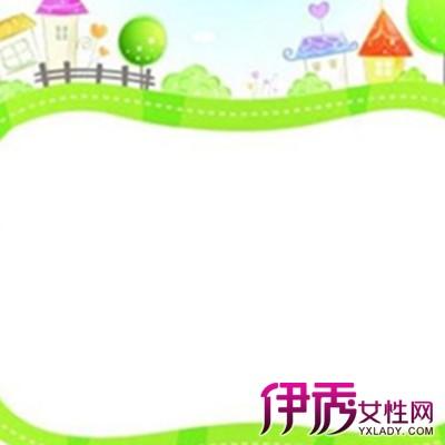 儿童画花边边框简单漂亮图片 激发儿童创造力