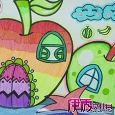 儿童简单的绘画图片大全 绘画理论基础知识介绍图片