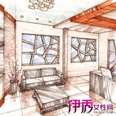 【总经理办公室手绘效果图】【图】总经理办公室手绘