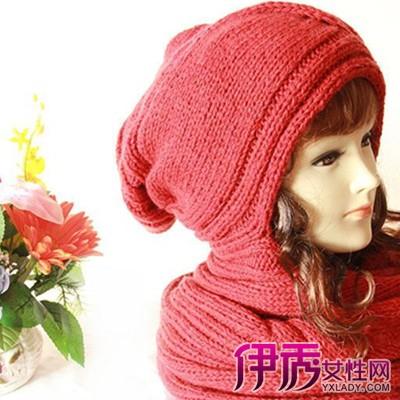 【帽子围巾一体编织方法】【图】帽子围巾一体编织