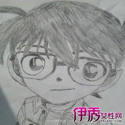 【柯南铅笔画】【图】展示柯南铅笔画图片
