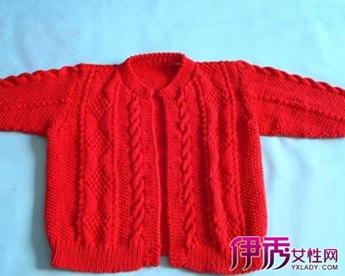 【婴儿毛衣编织花样款式图案】【图】婴儿毛衣编织