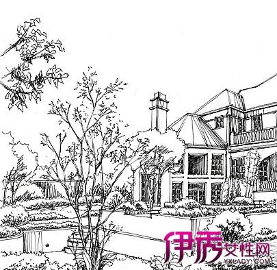 【图】欧式建筑高清手绘图欣赏