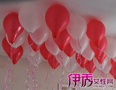 【图】气球婚房布置效果图欣赏 打造一个难忘的婚礼