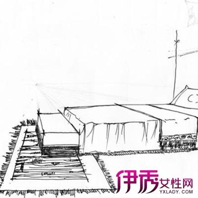 【图】手绘家具线稿欣赏 分享手绘全过程